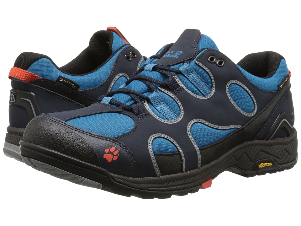 Jack Wolfskin - Crosswind Texapore O2+ Low (Night Blue) Men's Shoes