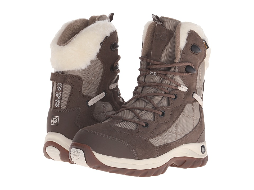 Jack Wolfskin - Icy Park Texapore (Siltstone) Women's Shoes