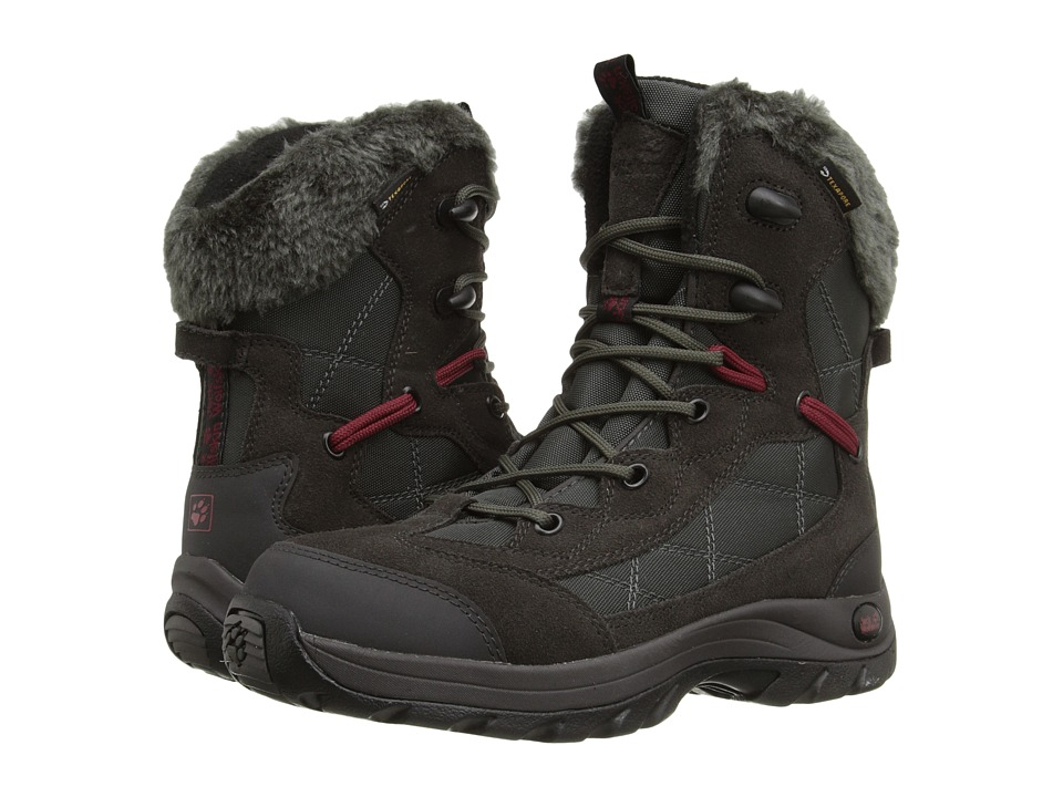 Jack Wolfskin - Icy Park Texapore (Shadow Black) Women's Shoes
