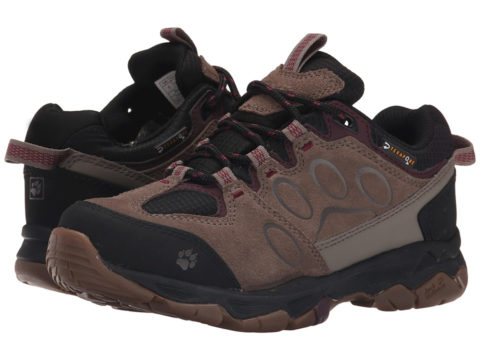 Jack Wolfskin - Mountain Attack 5 Texapore Low (Wild Berry) Women's Shoes
