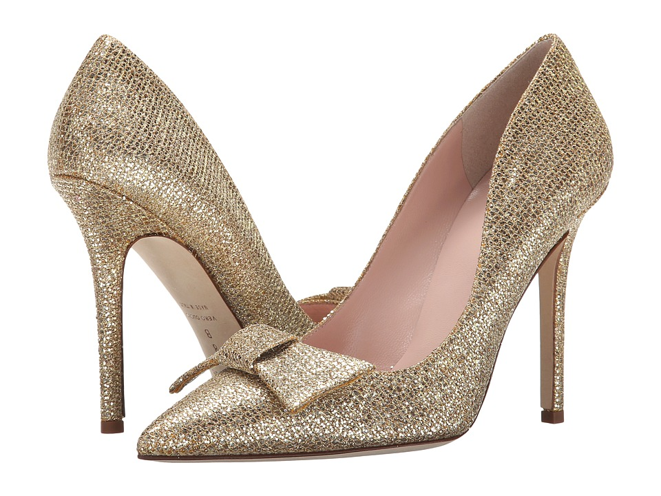 Kate Spade New York - Layla (Gold Starlight Fabric) Women's Shoes