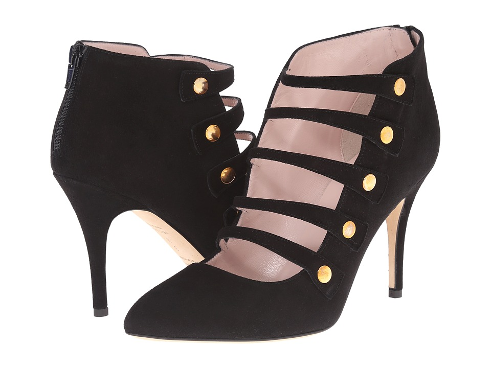 Kate Spade New York - Navia (Black Kid Suede) Women's Shoes