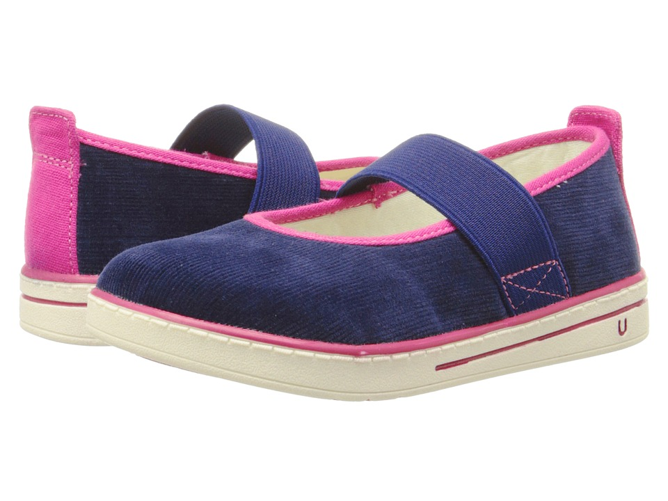 Umi Kids - Alia (Toddler/Little Kid) (Navy) Girl's Shoes