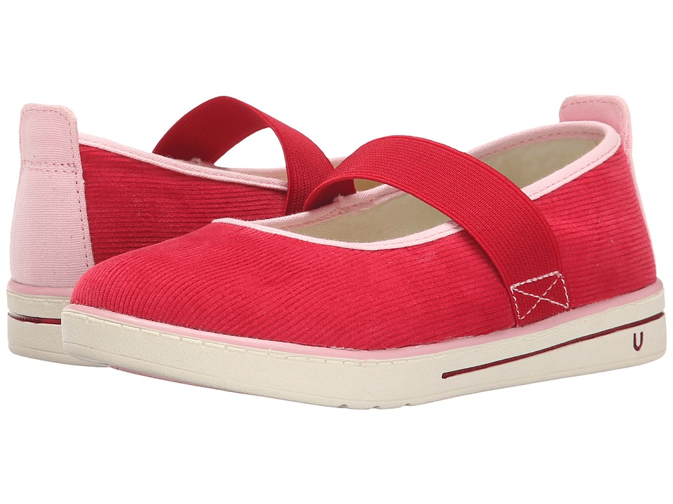 Umi Kids - Alia (Toddler/Little Kid) (Red) Girl's Shoes