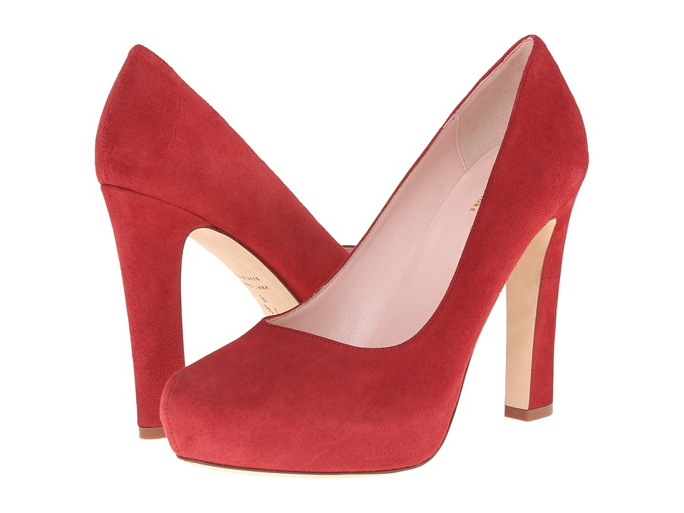 Kate Spade New York - Nessle (Russett Kid Suede) High Heels