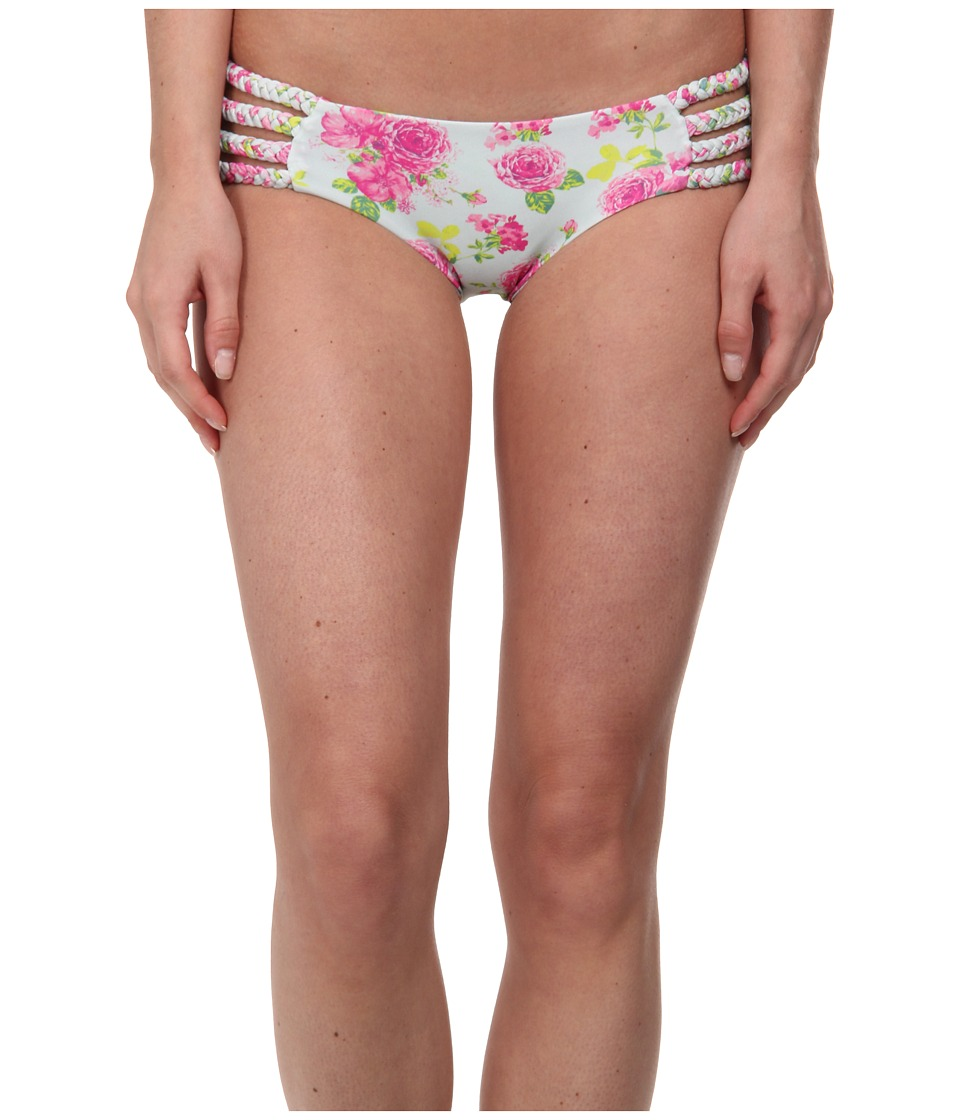 Tori Praver - Shyla 4 Multi Braid Strap Bottom (Casablanca Rose) Women's Swimwear