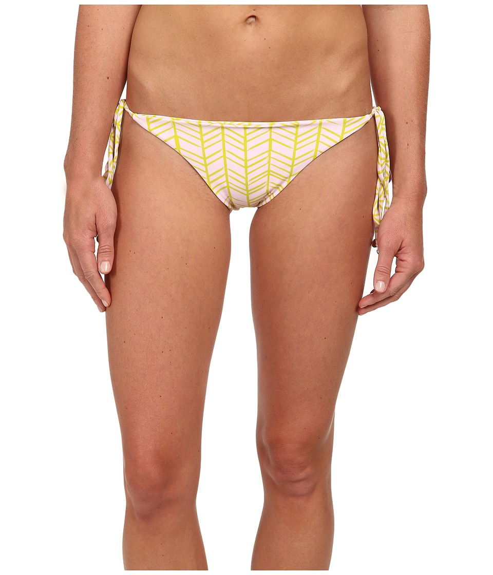Tori Praver - Coco Tie Side Bottom (India Lime) Women's Swimwear