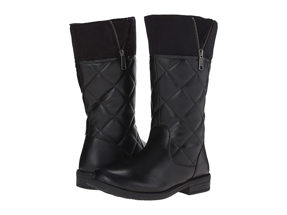 Umi Kids - Quiltee C Waterproof (Toddler/Little Kid/Big Kid) (Black) Girls Shoes