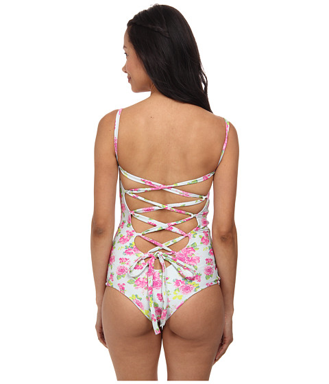 Tori Praver - California Full (Casablanca Rose) Women's Swimsuits One Piece