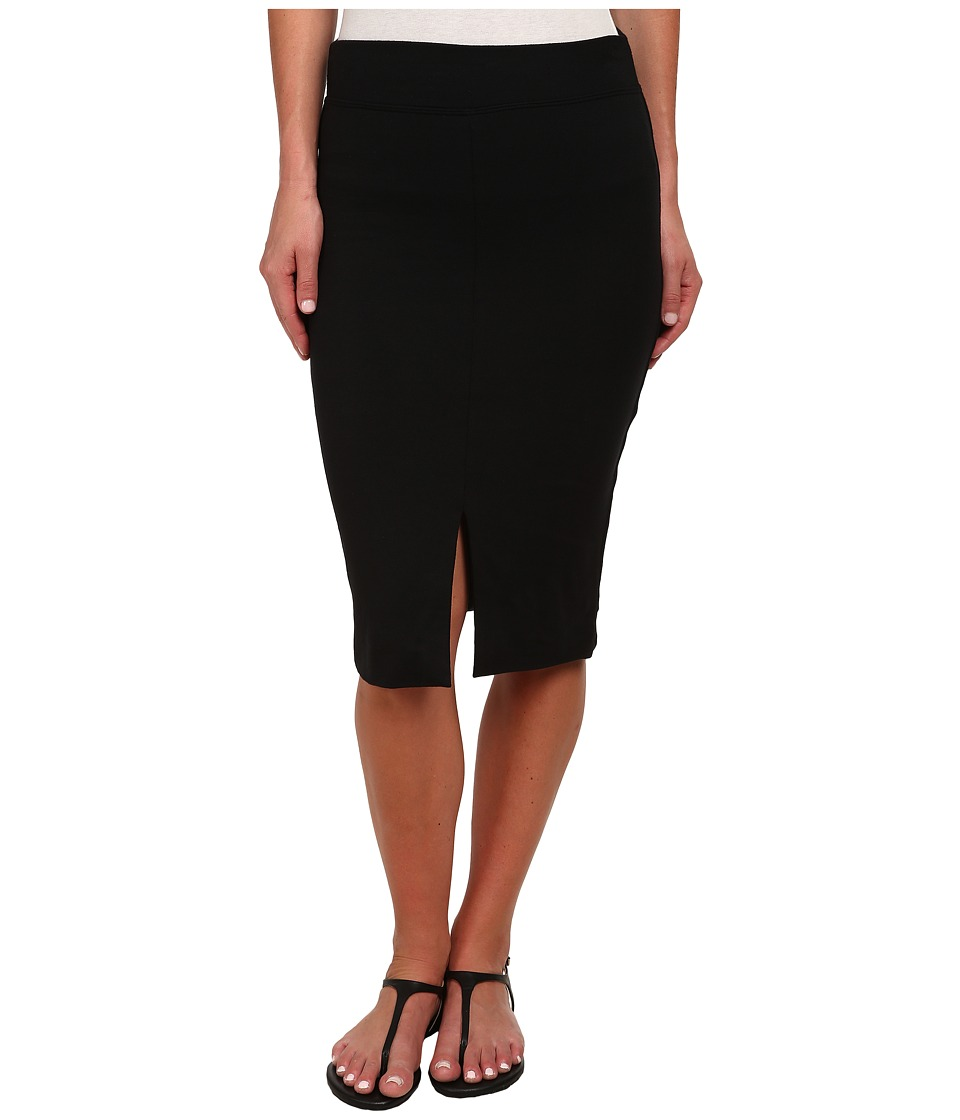 LNA - Harley Slit Skirt (Black) Women's Skirt