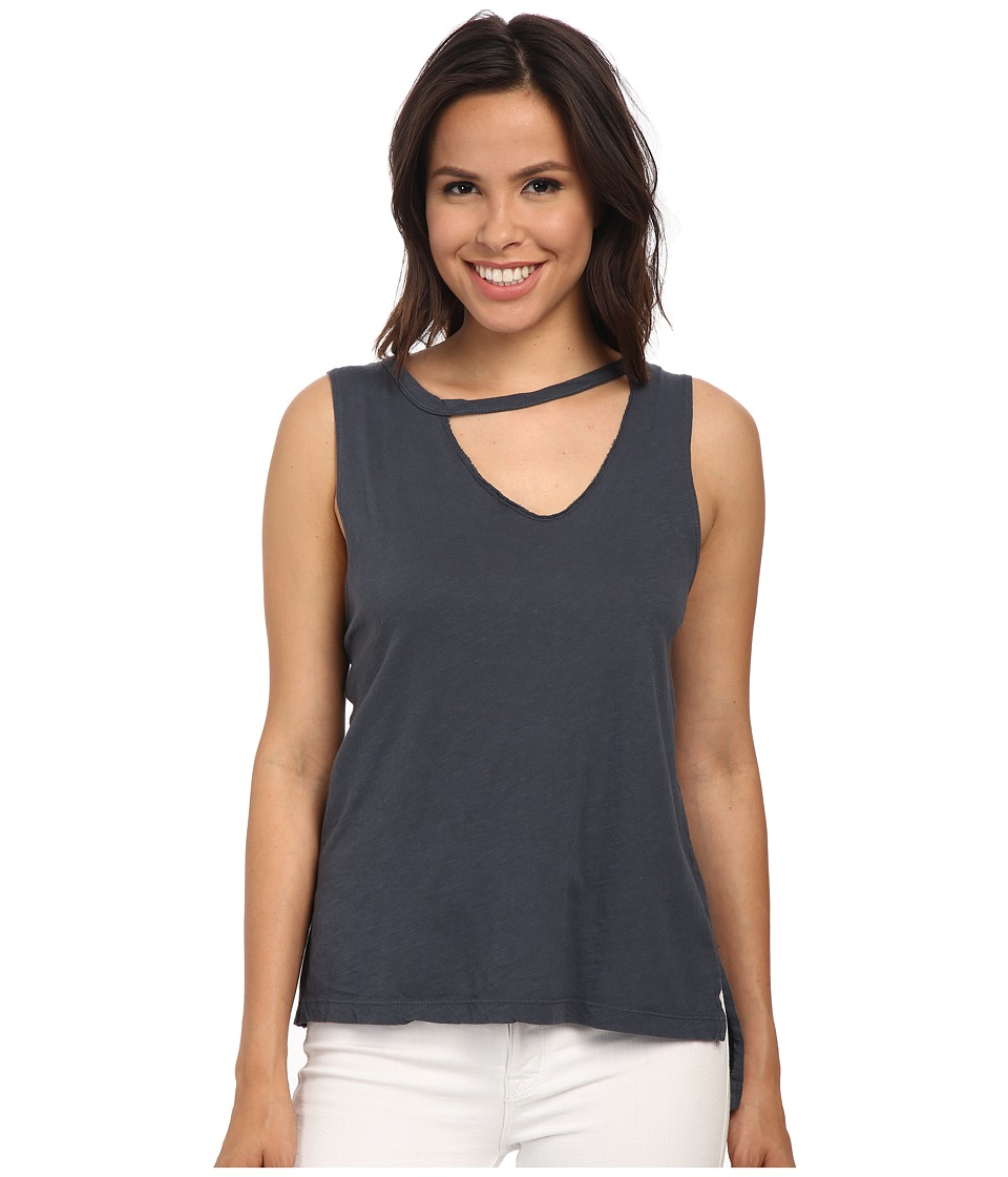 LNA - Mara Tank Top (Off Black) Women's Sleeveless