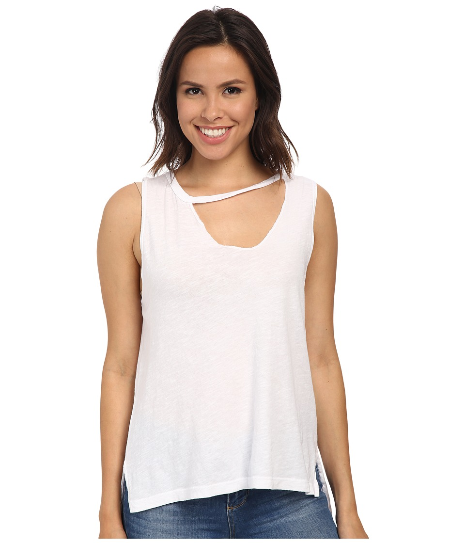 LNA - Mara Tank Top (White) Women's Sleeveless