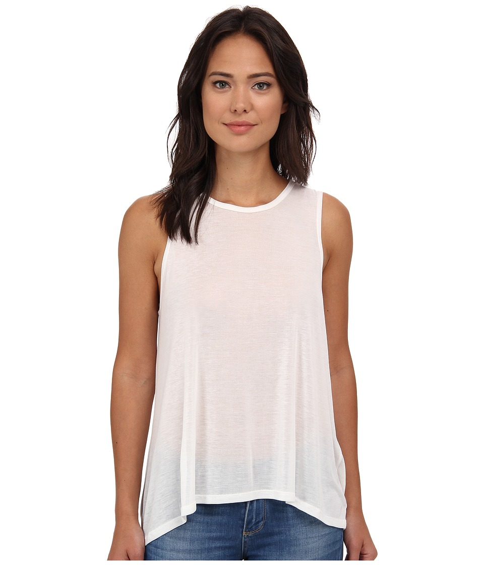 LNA - Bella Tank Top (White) Women's Sleeveless