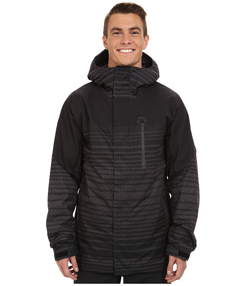 Burton - Encore Jacket (Dawson Stripe) Men's Coat
