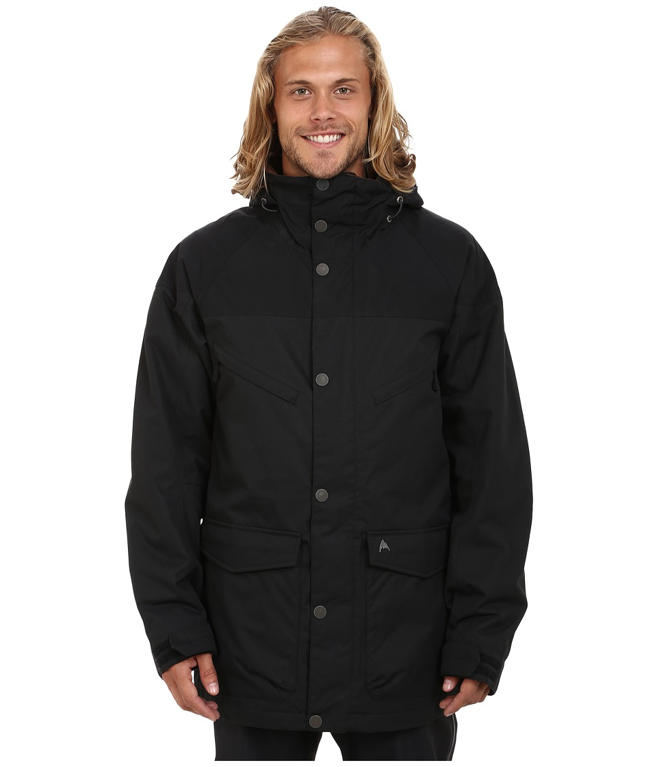 Burton - MB Frontier Jacket (True Black/True Black Waxed) Men's Jacket