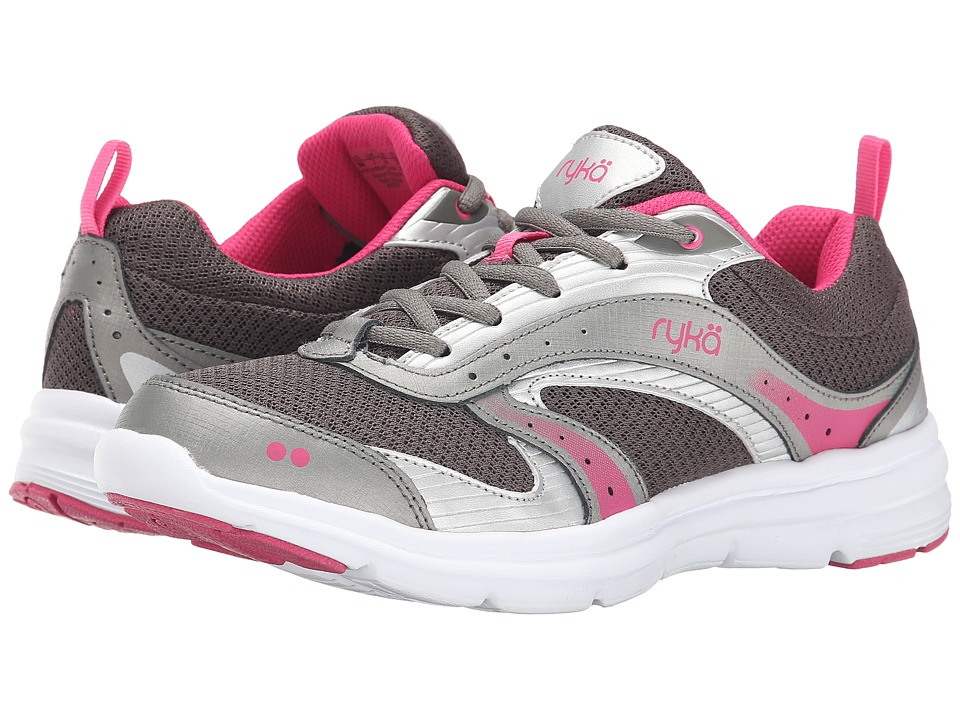 Ryka - Whisk SMT (Grey/Silver/Pink) Women
