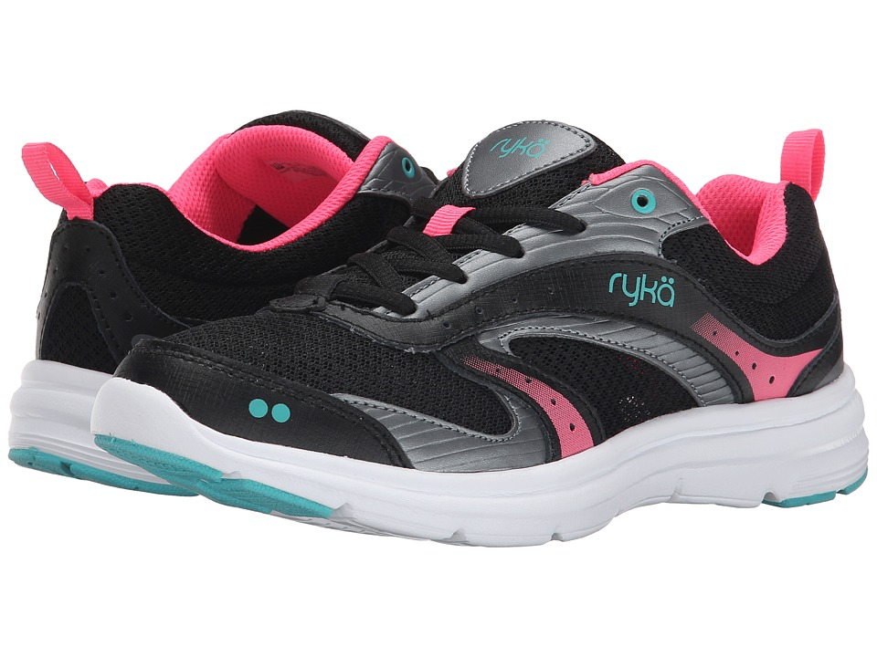 Ryka - Whisk SMT (Black/Pink/Teal) Women