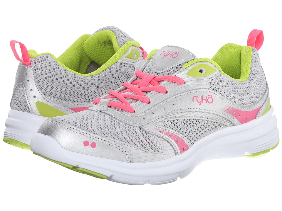 Ryka - Whisk SMT (Silver/Lime/Pink) Women's Shoes