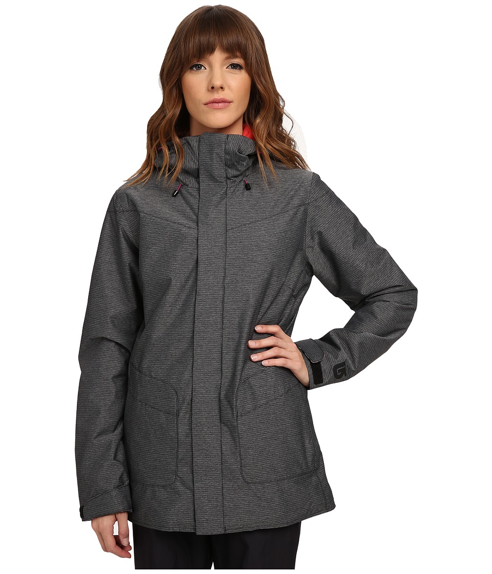 Burton - Eastfall Jacket (True Black) Women's Coat