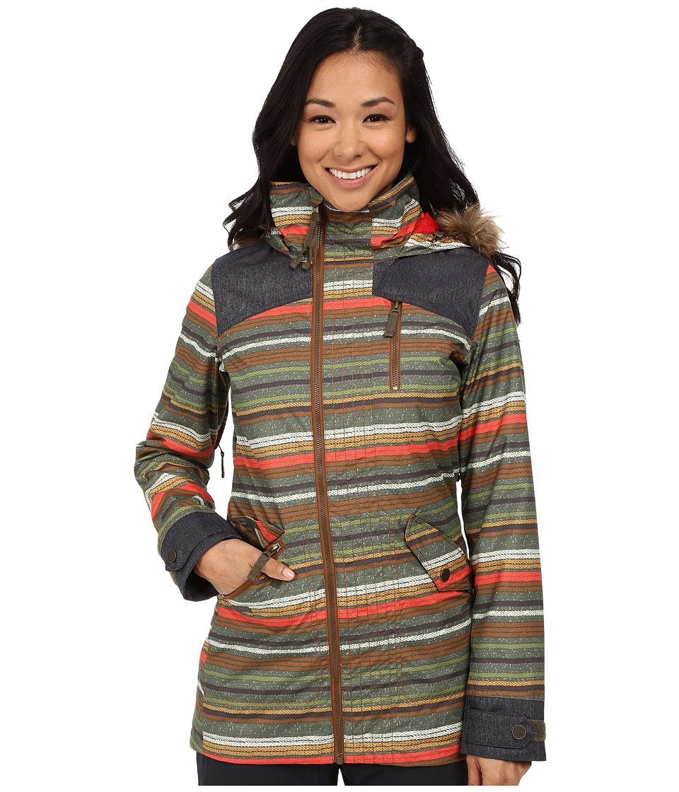 Burton - Hazel Jacket (Blanket Stripe) Women's Coat