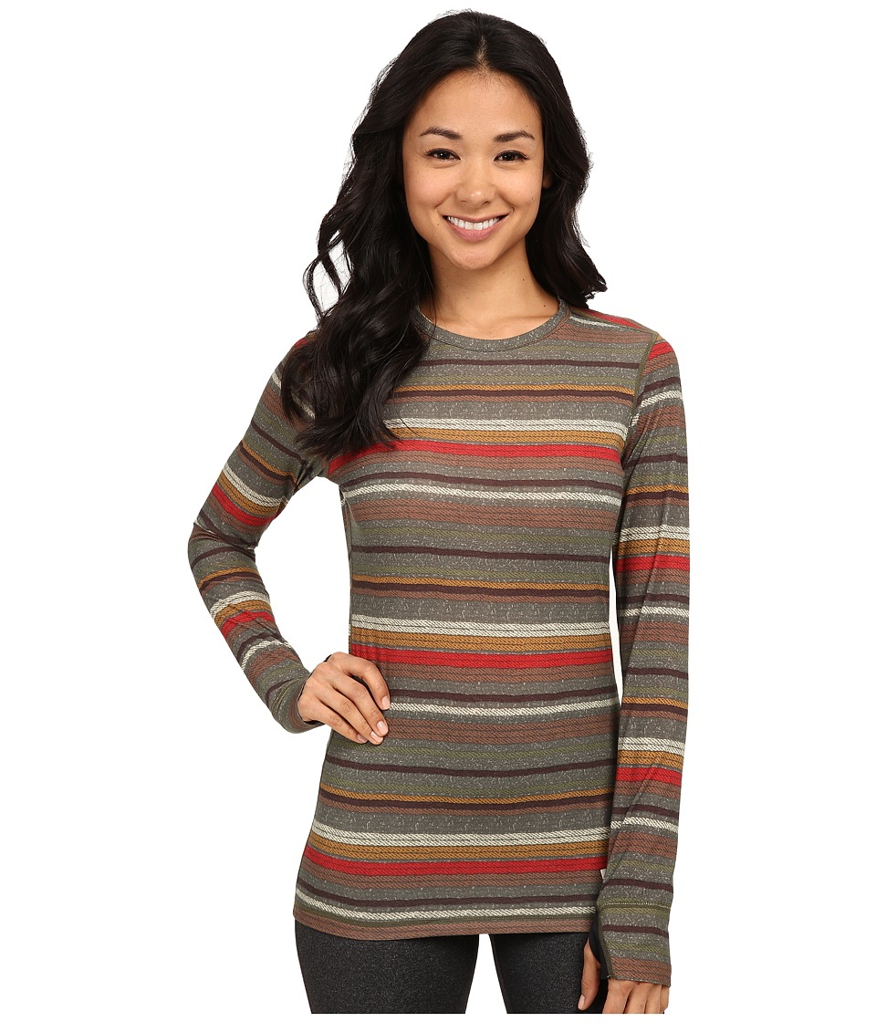 Burton - Midweight Wool Crew (Blanket Stripe) Women's Clothing