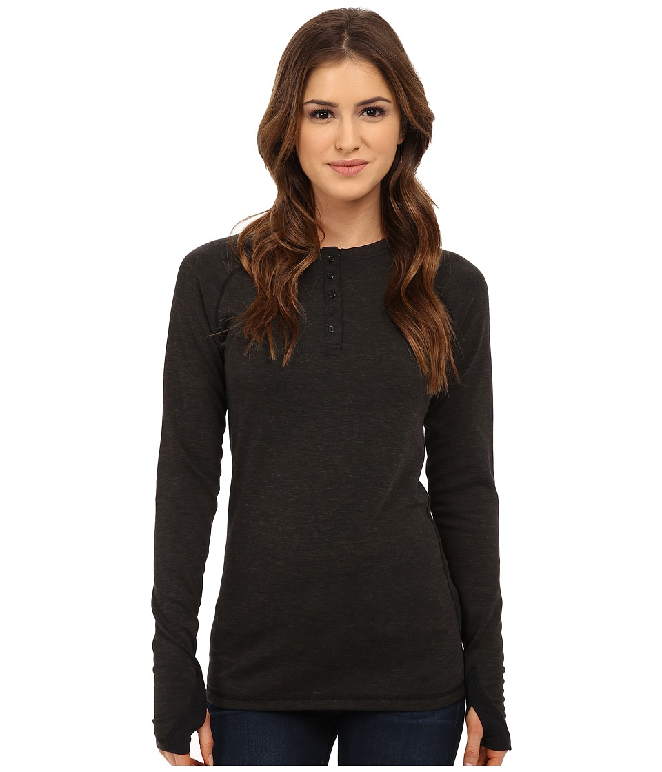 Burton Expedition Wool Henley (Black Heather) Women