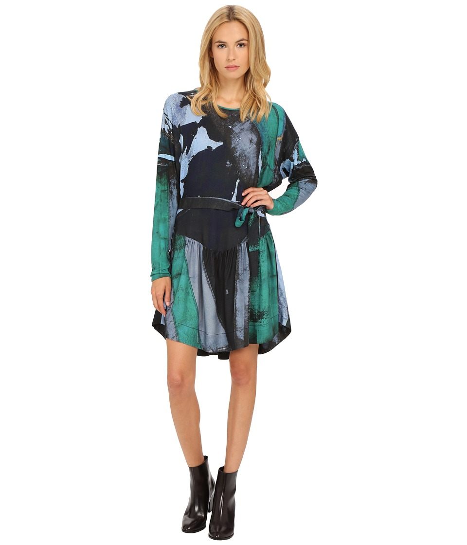 Vivienne Westwood Manifestation Dress (Green/Black) Women