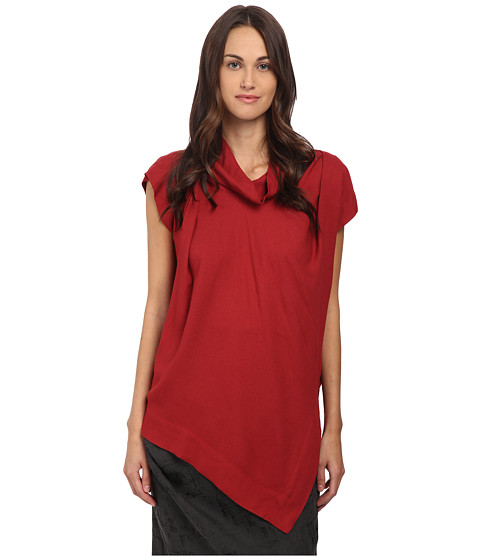 Vivienne Westwood Anglomania - Cave Blouse (Wax Red) Women