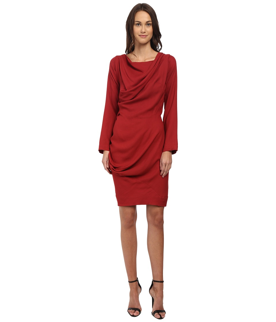 Vivienne Westwood Anglomania - New Fond Dress (Wax Red) Women's Dress
