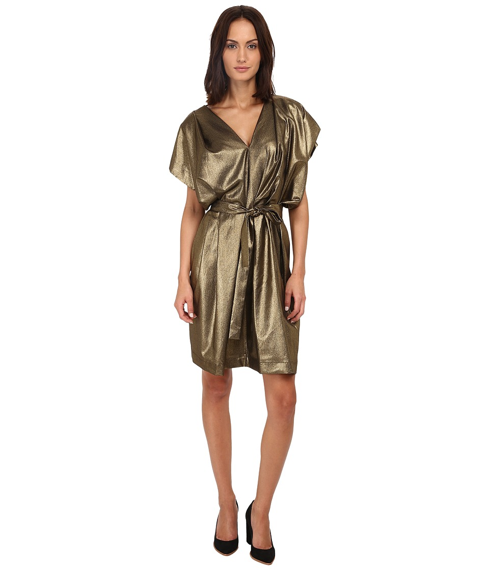 Vivienne Westwood - Walker Dress (Gold) Women's Dress
