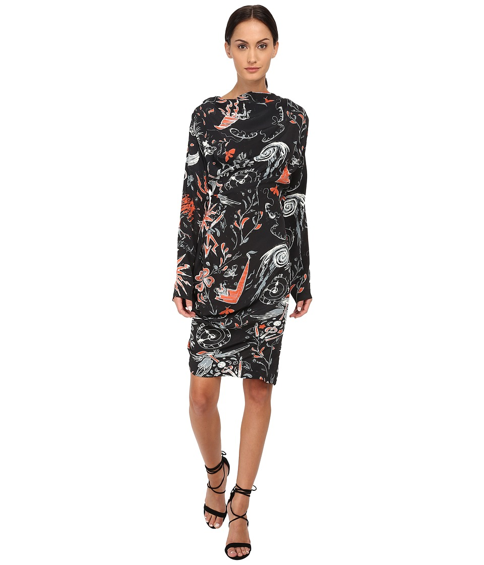 Vivienne Westwood New Fond Dress (Flame) Women