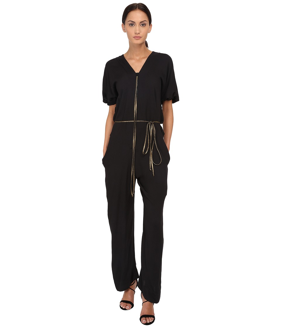 Vivienne Westwood - Tuck Jumpsuit (Black) Women's Jumpsuit & Rompers One Piece