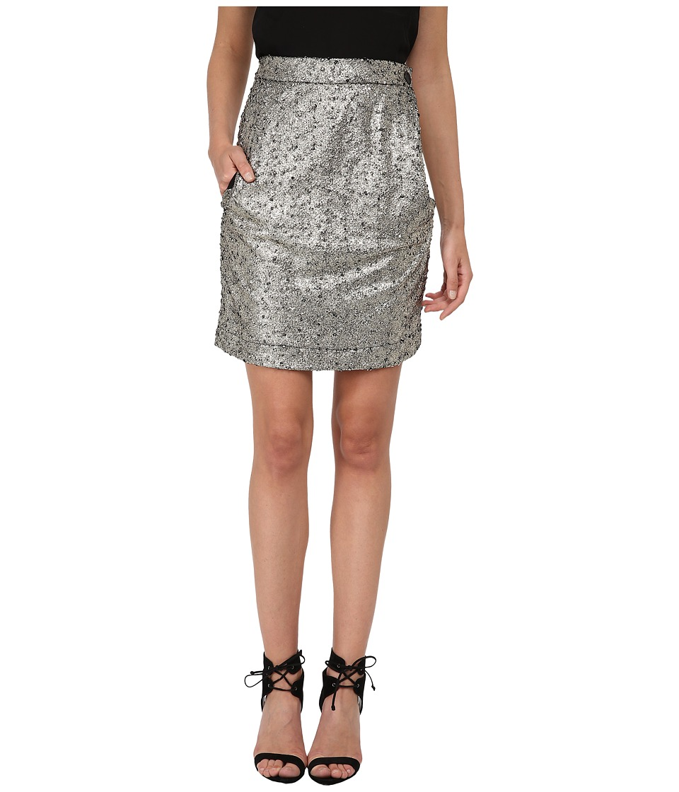 Vivienne Westwood - Alcoholic Mini Skirt (Gold) Women's Skirt