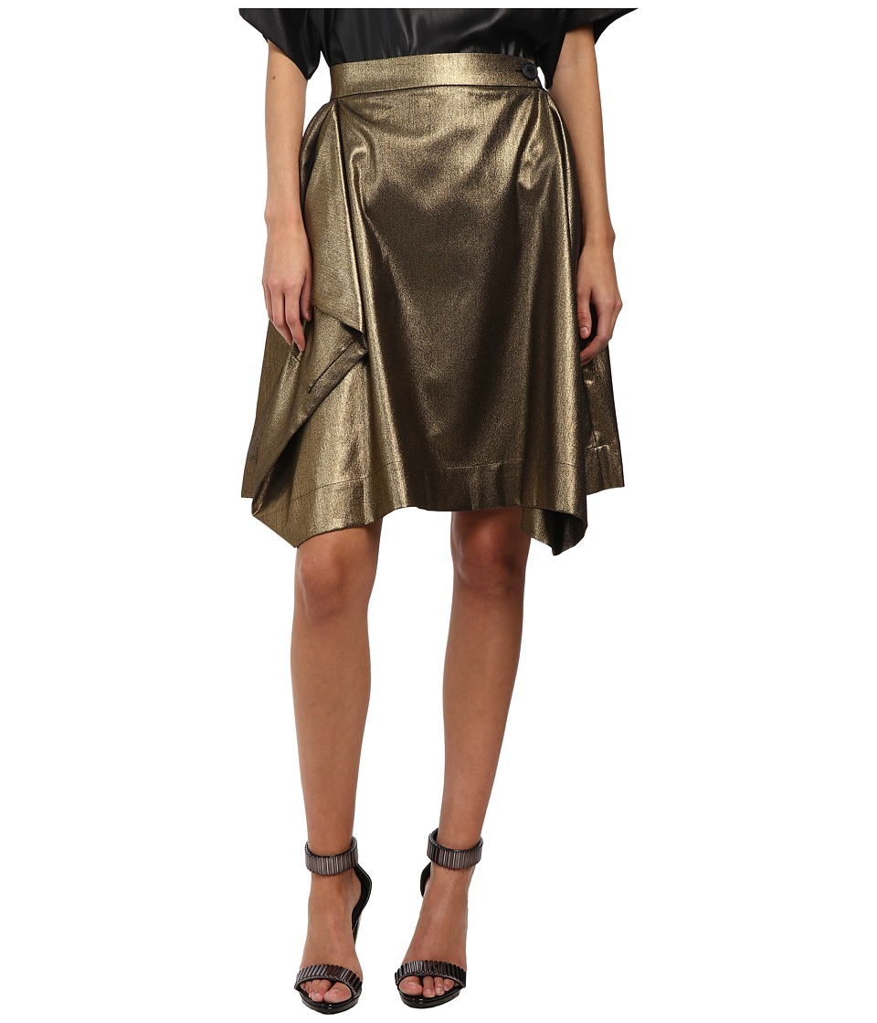 Vivienne Westwood Anglomania - Heathcote Skirt (Gold) Women