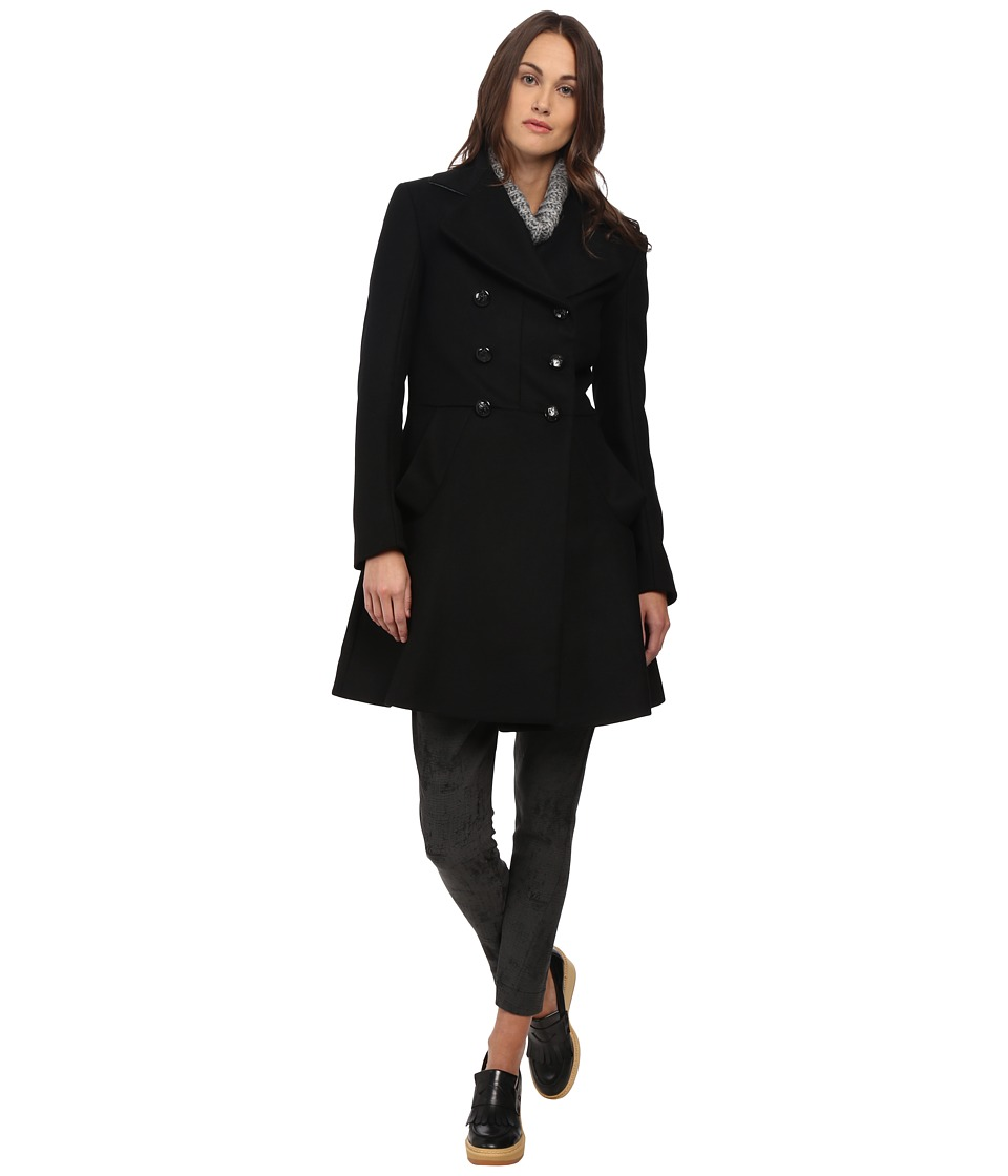 Vivienne Westwood - Corgi Coat (Black) Women's Coat