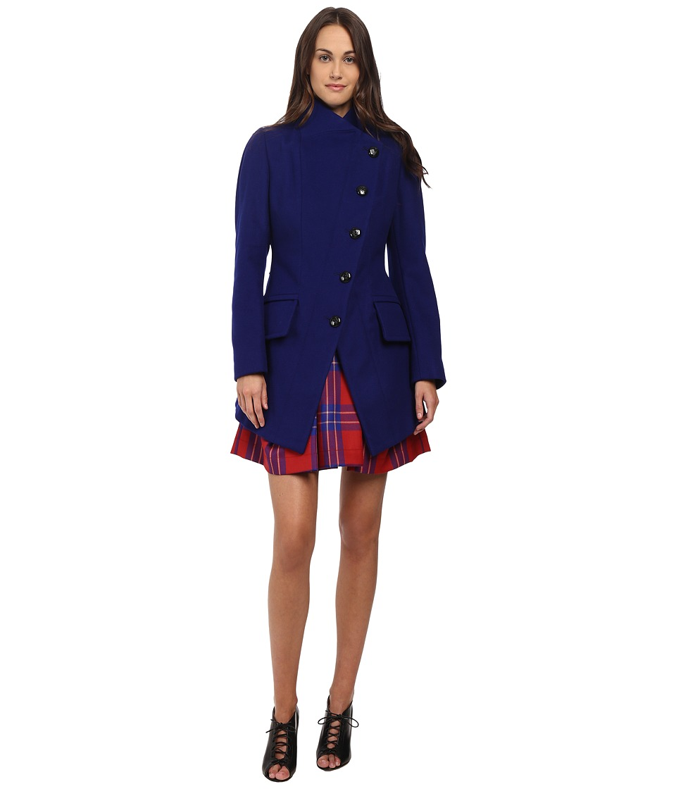 Vivienne Westwood Anglomania - State Coat (Royal Blue) Women's Coat