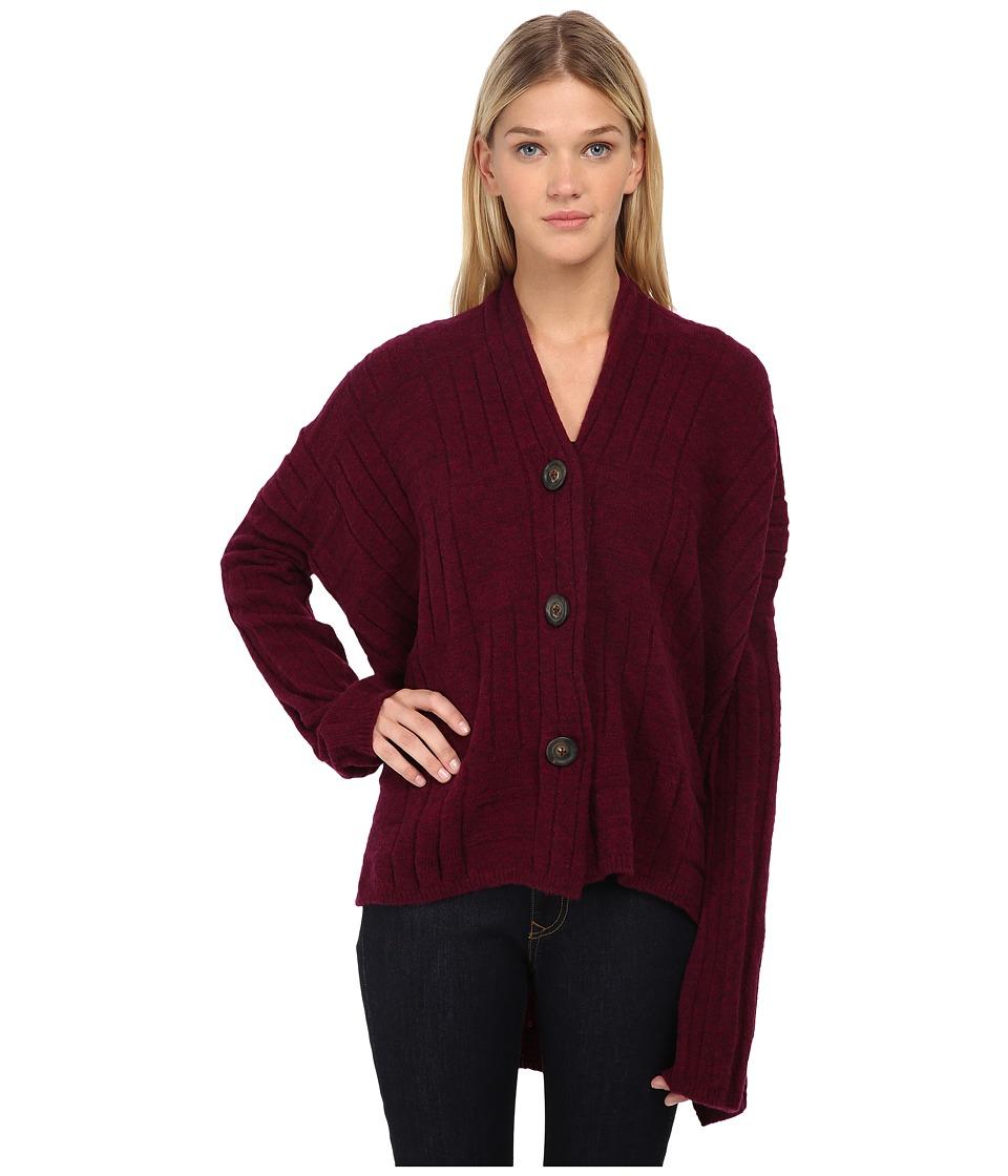 Vivienne Westwood - Voyage Cardigan (Berry) Women's Sweater