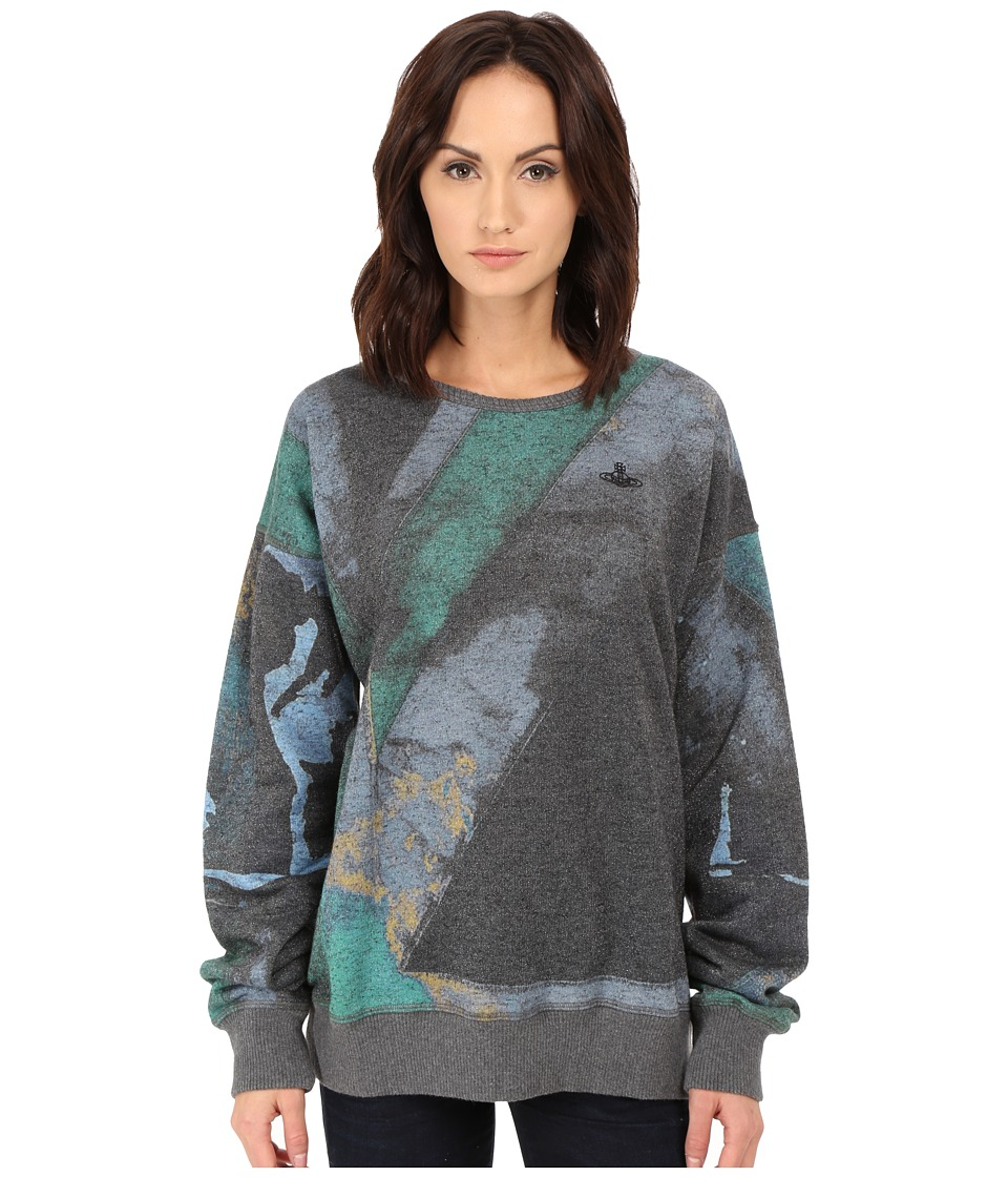Vivienne Westwood - Gusset Sweater (Green/Black) Women's Sweater