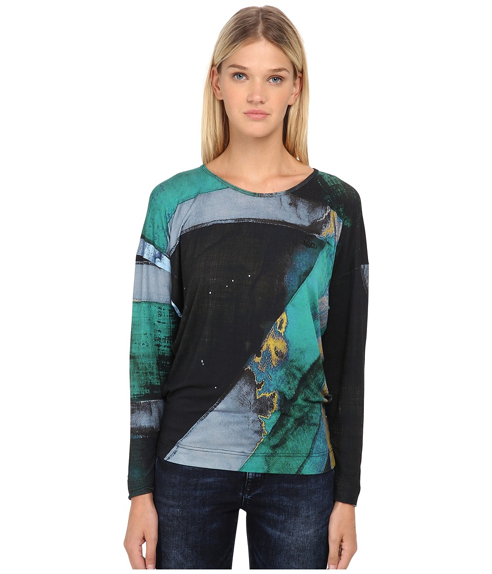 Vivienne Westwood - Manifestation T-Shirt (Green/Black) Women's T Shirt