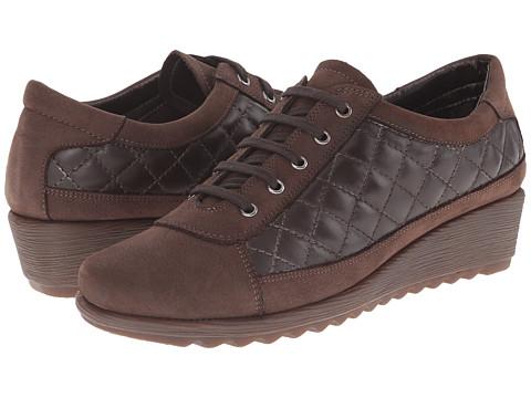 The FLEXX - Easy Run (Ebony Dakar/Cashmere) Women's Wedge Shoes