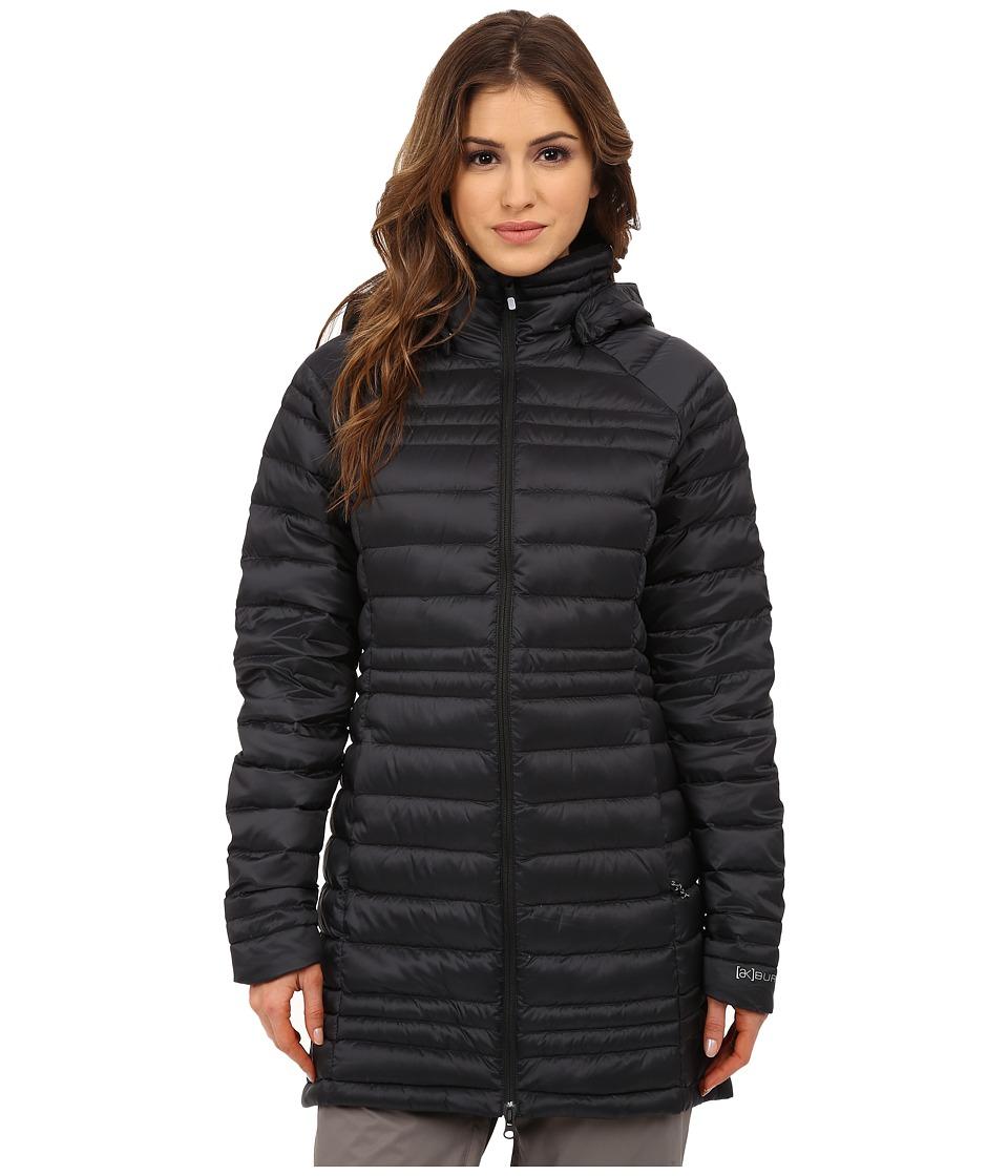 Burton - AK Long Baker Down Insulator Jacket (True Black) Women's Coat