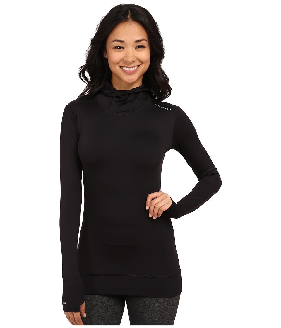 Burton - AK Power Stretch Hoodie (True Black) Women's Sweatshirt