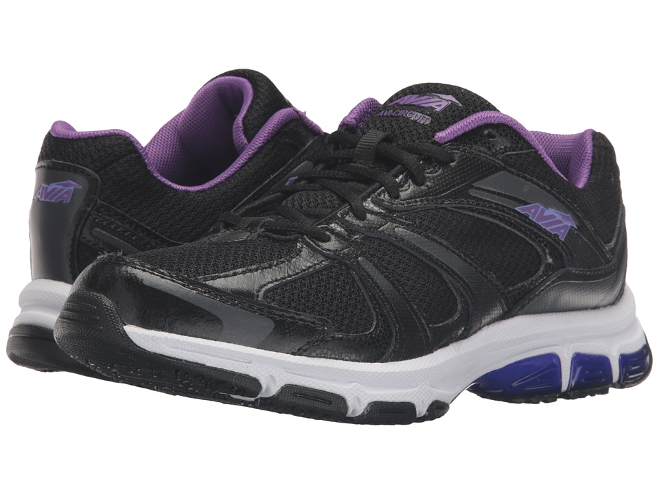 Avia - Avi-Circuit (Black/Plumaria/Iron Grey) Women's Shoes