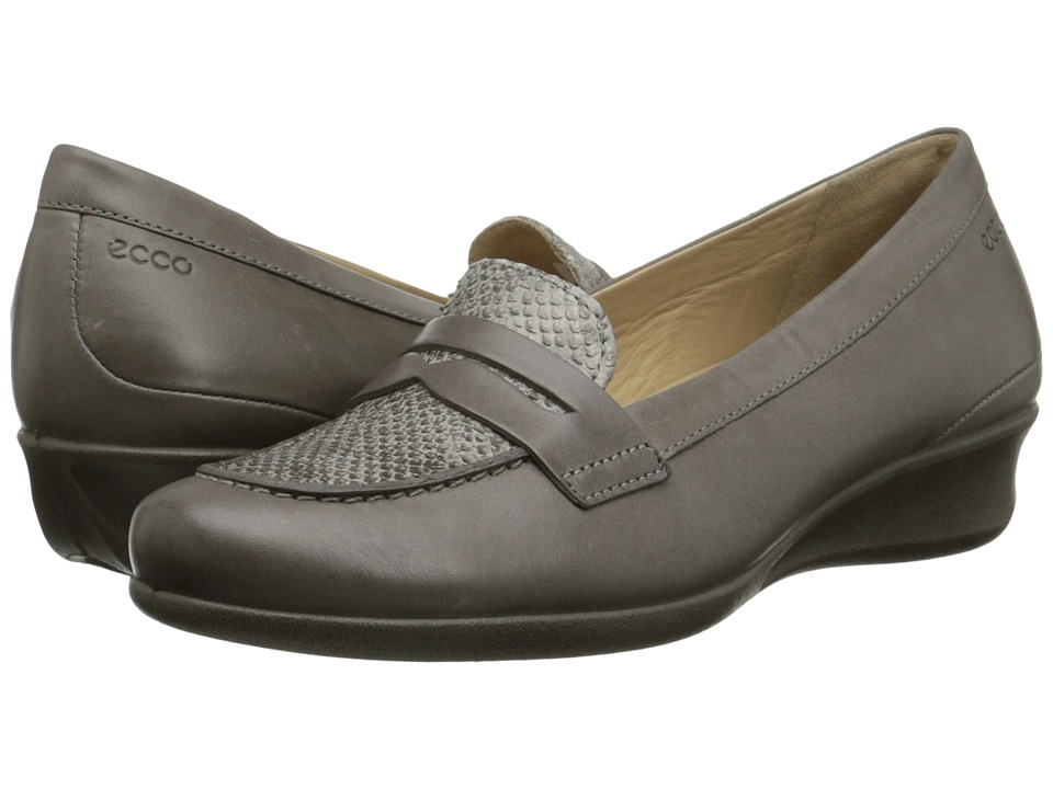ECCO - Abelone Bit (Warm Grey/Moon Rock) Women's Shoes