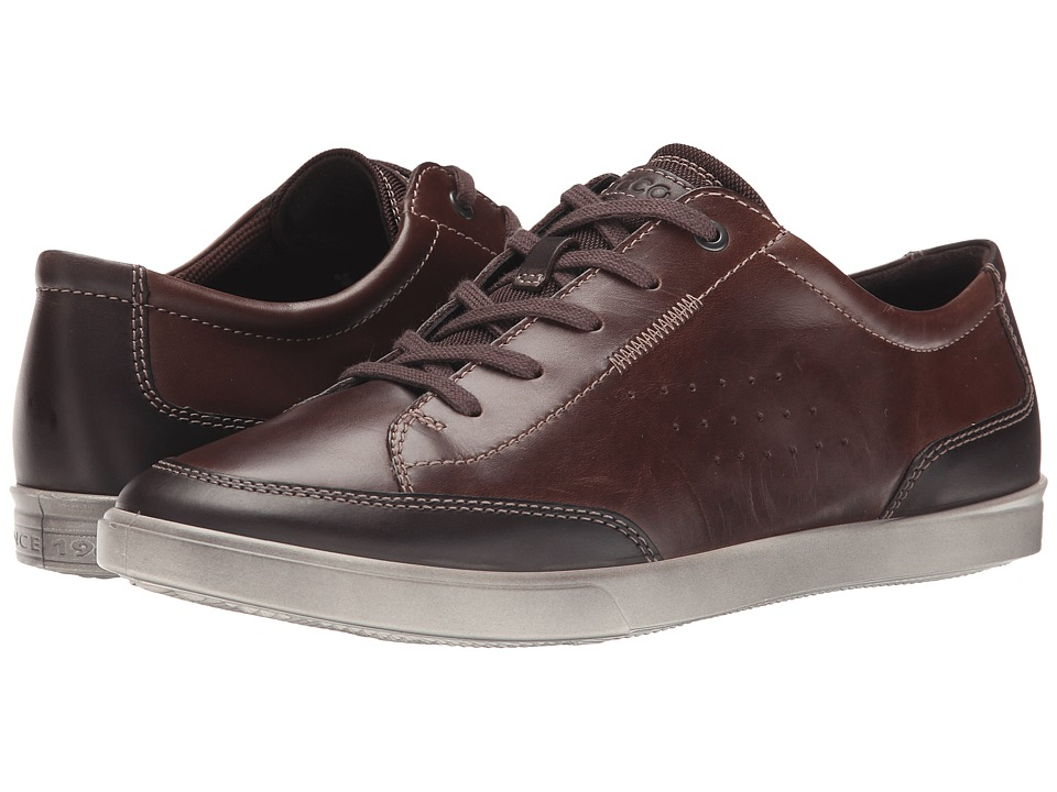 ECCO - Collin Classic Tie (Coffee/Cocoa Brown) Men's Shoes