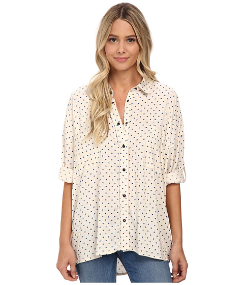 J.A.C.H.S. - Oversized Dolman Sleeve (White) Women's Blouse