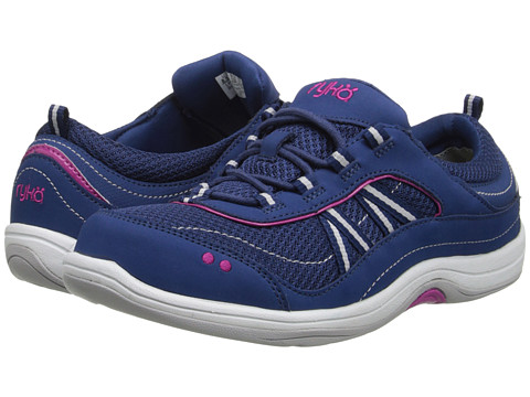 Ryka - Macie (Jet Ink Blue/Pink) Women