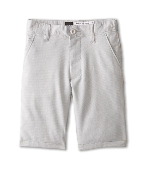 RVCA Kids - Backbone Shorts (Big Kids) (Metal) Boy's Shorts