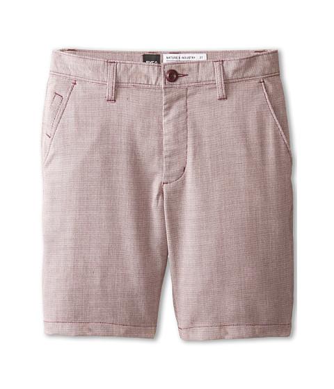 RVCA Kids - Backbone Shorts (Big Kids) (Raisin) Boy