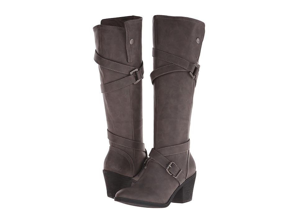 Blowfish - Snaps (Grey Texas PU) Women's Pull-on Boots